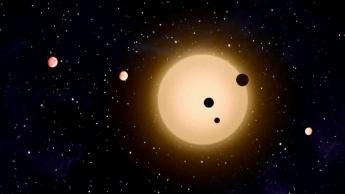 Imagem planetas do universo