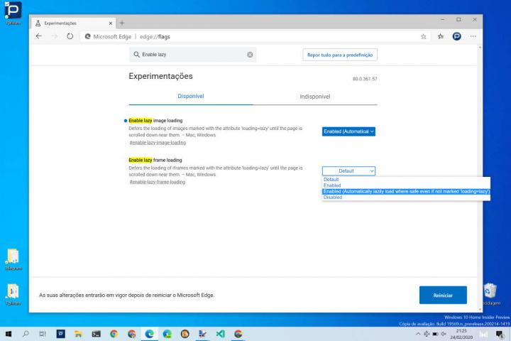 Edge Internet Microsoft rápido lazy