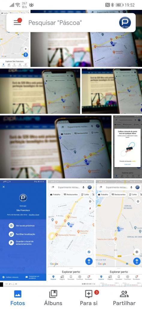 Google Photos imagens esconder Android