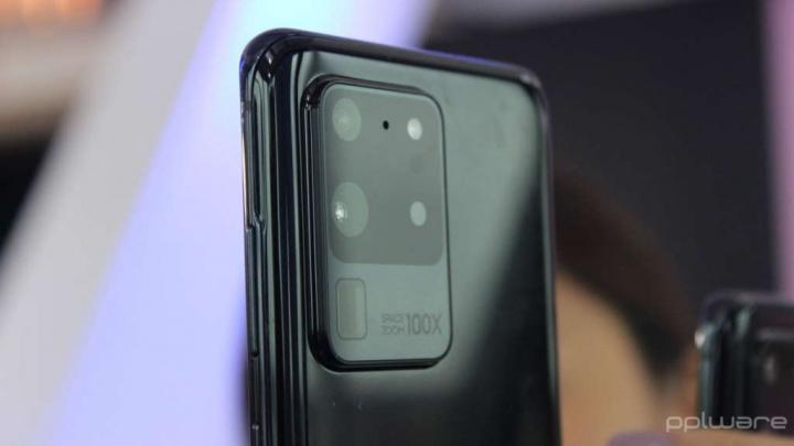S20 Galaxy Samsung atualização câmaras