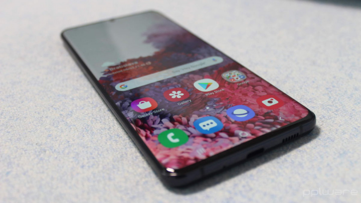 Samsung S20 ecra