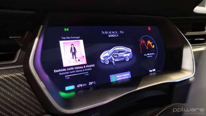 Tesla velocidade carros elétricos máxima