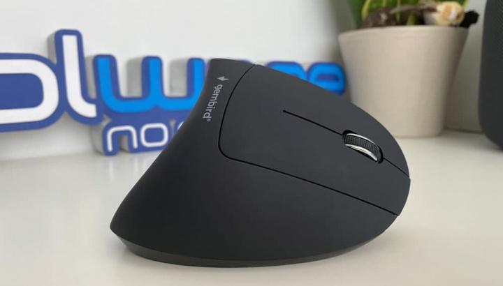 Imagem rato wireless ergonómico