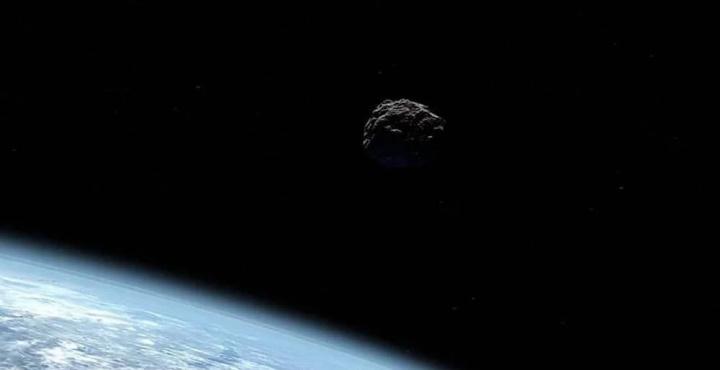 Imagem do asteroide que faz companhia ao nosso satélite