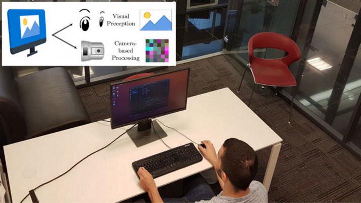 roubar dados PC brilho ecrã