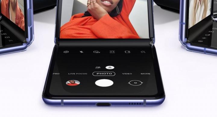 Imagem smartphone Samsung Galaxu Z Flip que não deverá sofrer com o coronavírus na China