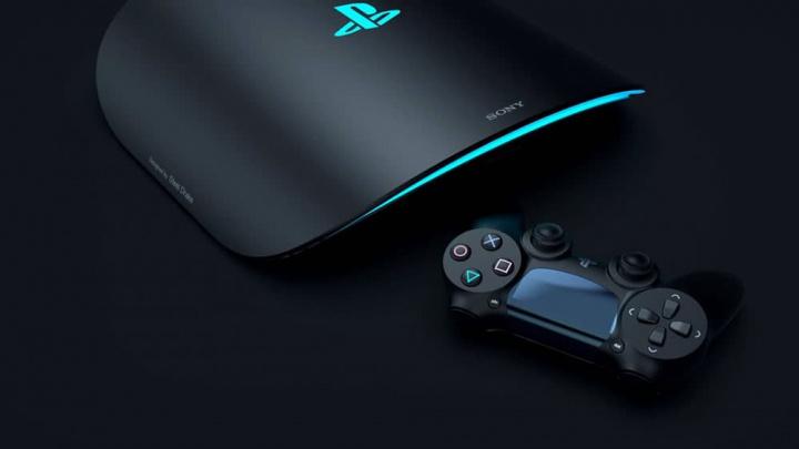 Imagem de conceito da consola da Sony