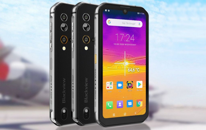 Looking for a rugged smartphone? Meet the new Blackview BV9900 Pro