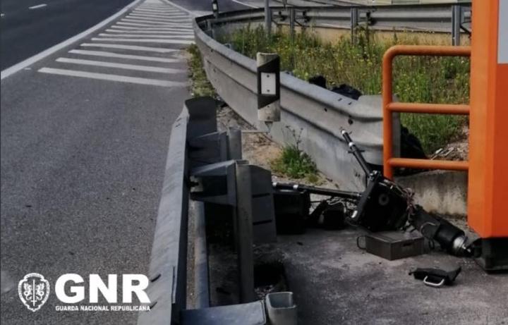 GNR: Condutor foi detido em Leiria depois de destruído radar