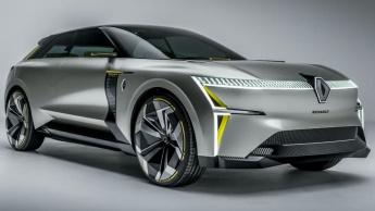 Imagem Renault Morphos, um elétrico futurista