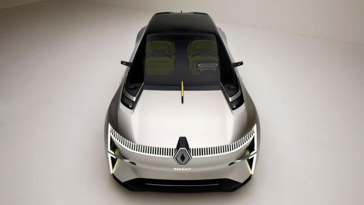 Imagem Renault Morphoz, um elétrico francês