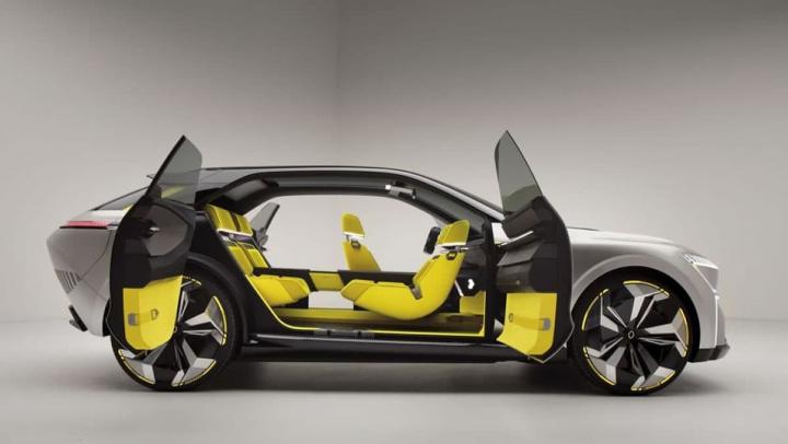 Imagem Renault Morphoz, um elétrico futurista