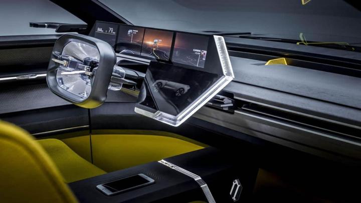 Imagem Renault elétrico futurista