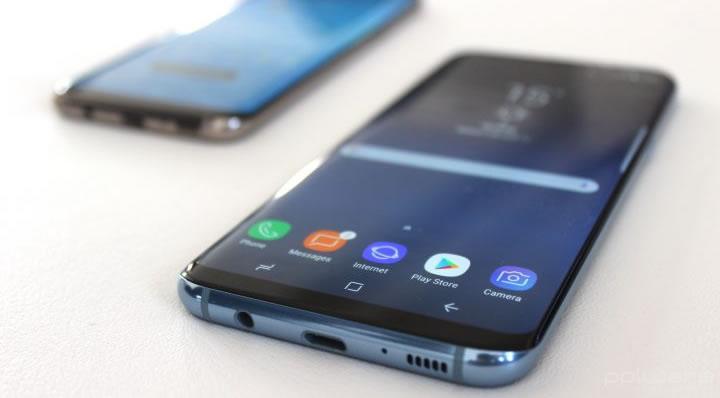 Imagem smartphone com Android 7