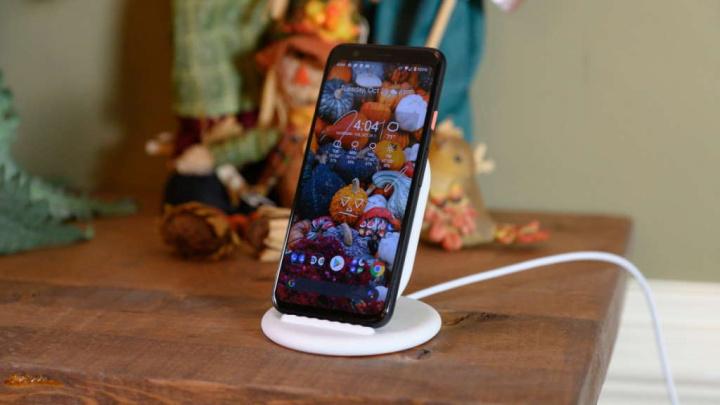 Android 11 carregamento sem fios Google alertar