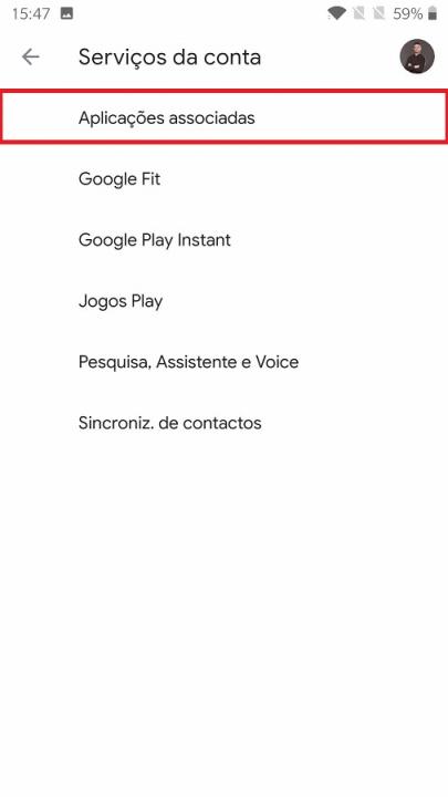 aplicações conectadas conta google (4)