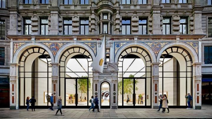 Imagem Apple Store Reino Unido
