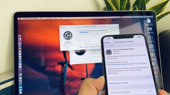 Imagem atualização do iOS 13.4 beta 5