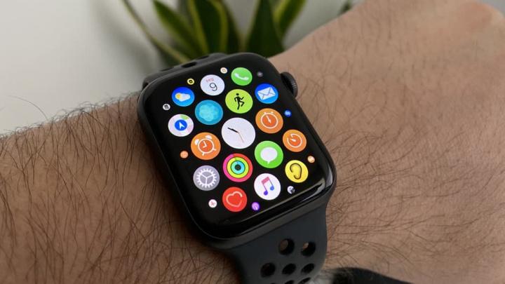 Imagem smartwatch da Apple