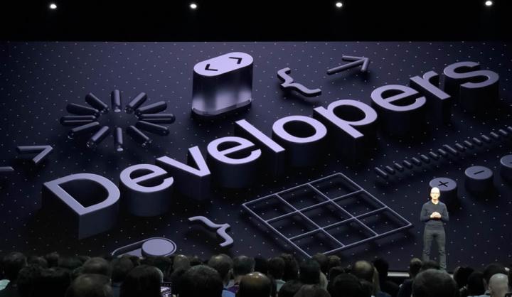 Imagem evento Apple para developers