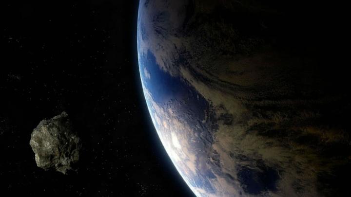 Imagem ilustração asteroide classificado pela NASA como perigoso, este é o (52768) 1998 OR2