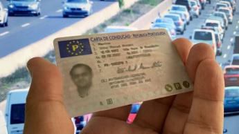 Imagem de uma Carta de Condução