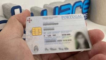 Imagem Cartão de Cidadão caducado