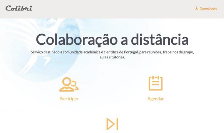 Como usar o Colibri da FCCN para Ensino a distância