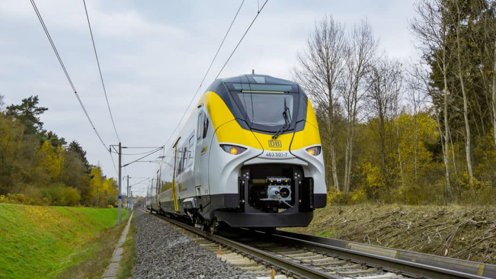 Image Siemens electric trains to Germany