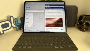 Imagem app Ficheiros no iPadOS para comprimir