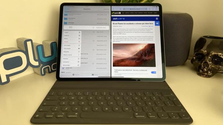 Imagem app Ficheiros no iPadOS para comprimir e descomprimir, fica a dica