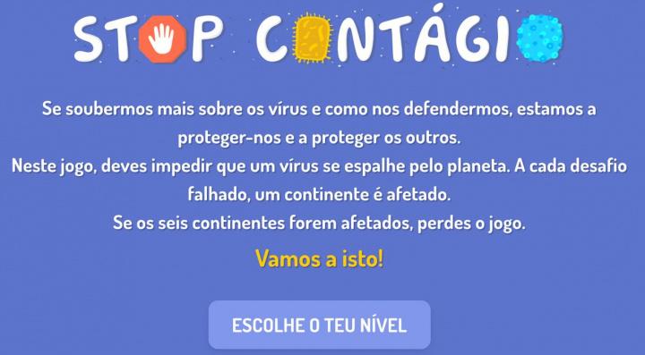 STOP Contágio: Afinal o que sabe sobre a COVID-19? Faça o teste