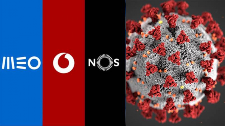 MEO, NOS e Vodafone lançam plano de combate à COVID-19