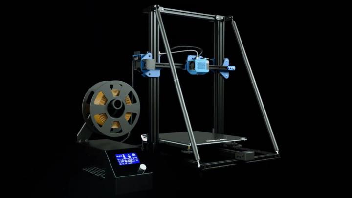 Nova impressora 3D Creality CR-10 V2 traz mais robustez e estabilidade que a antecessora
