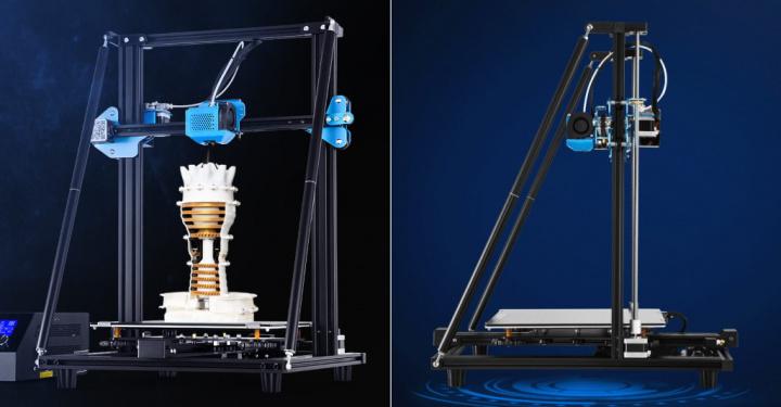 Estrutura reforçada da impressora 3D