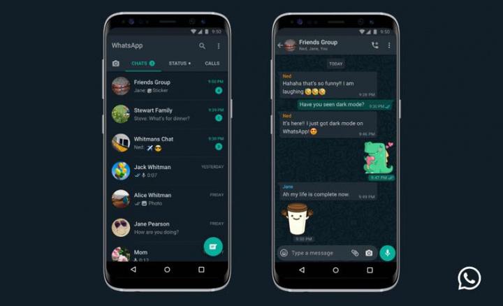 """WhatsApp: Chegou o """"Modo Escuro"""" ao Android e iPhone"""
