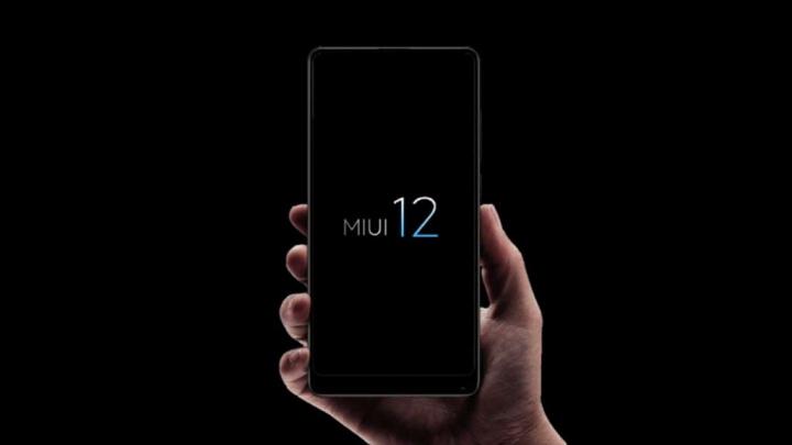 MIUI 12 Xiaomi smartphone versão equipamentos