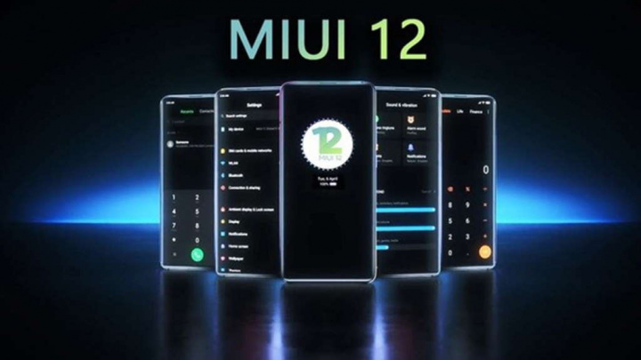 Xiaomi MIUI 12 smartphones versões MIUI
