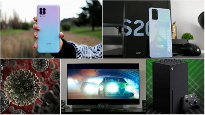 E os destaques tecnológicos da semana que passou foram... - Samsung, Huawei, PS5, coronavírus