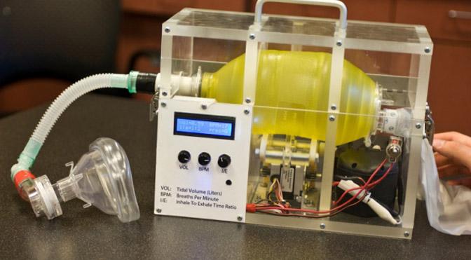 E-Vent: Ventilador Open Source para o tratamento da COVID-19 criado pelo MIT
