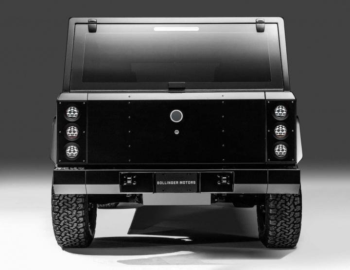 Imagem do Bollinger Motors, SUV elétrico