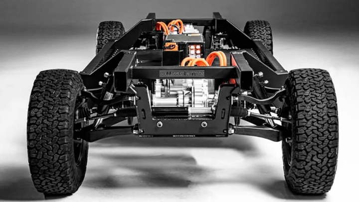 Plataforma para carro alétrico
