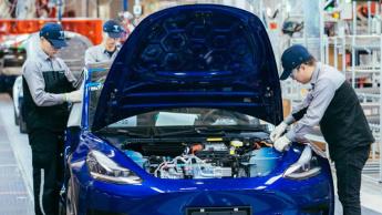 Imagem Tesla China a produzir elétricos