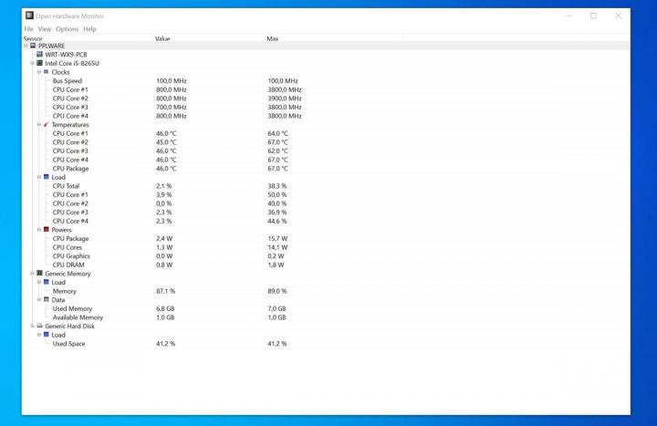 Imagem de app para manutenção do Windows