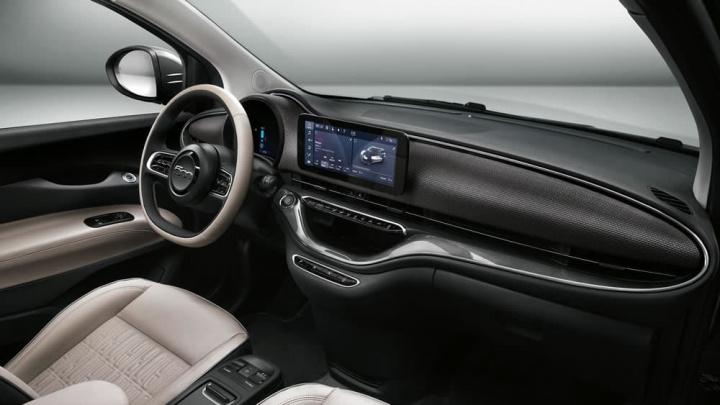 Interior do novo 500 da Fiat