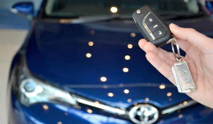 Imagem de chave que tem código vulnerável quer na Toyota, Hyundai ou Kia. Podem roubar o carro