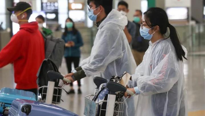Imagem Pulseira em viajantes a entrar em Hong Kong