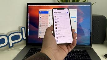 Imagem Mensagens do macOS e iOS