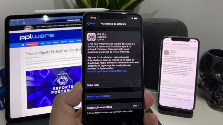 Chegou o iOS e iPadOS 13.4 e Watch OS 6.2! Conheçam já as novidades