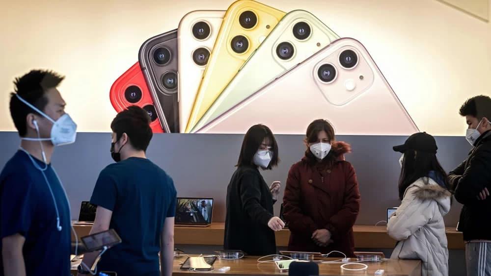 Imagem iPhone em queda na China e Apple culpa Coronavírus